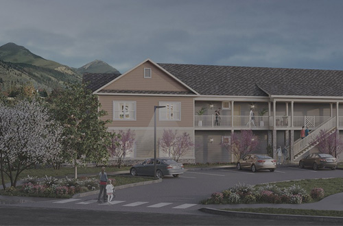 White Oak Grove Apartments Building